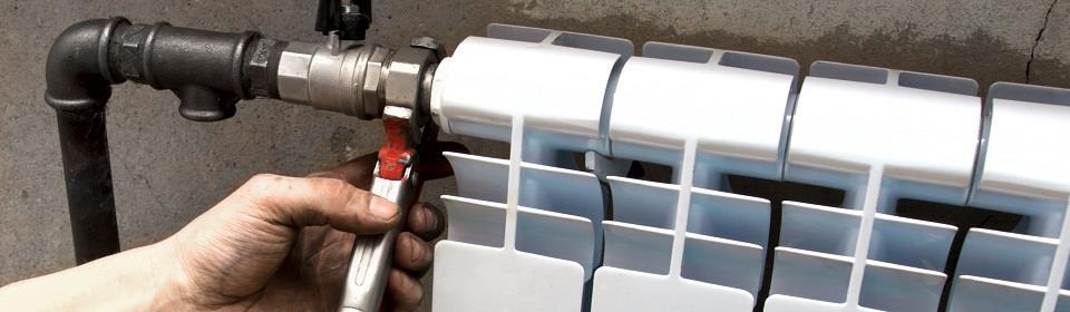 Installatie verwarming